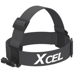 Xcel Harnais de tête avec fixation pour caméra noir