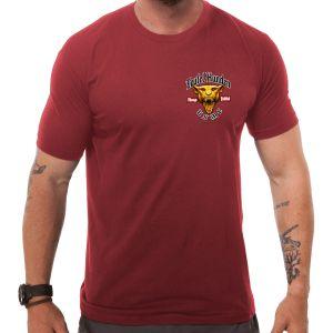7.62 Design T-shirt USMC Devil Dog rouge