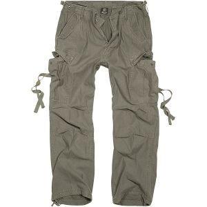 Brandit Pantalon M-65 Vintage vert olive