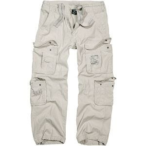 Brandit Pantalon Pure Vintage Old White