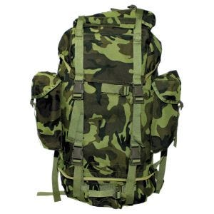 MFH Sac à dos German Army 65 L Czech Woodland