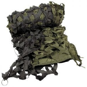 MFH Filet de camouflage 3 x 6 m vert olive