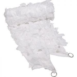 MFH Filet de camouflage 2 x 3 m blanc