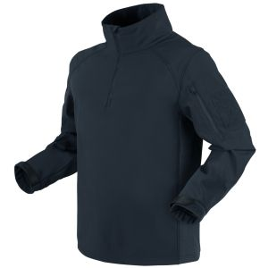 Condor Patrol 1/4 Zip Softshell Jacket Navy Blue