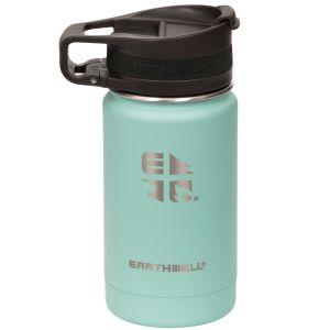 Earthwell Bouteille isotherme Roaster avec isolation sous vide et bouchon pour boire 355 ml Aqua Blue