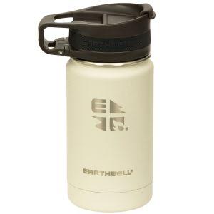 Earthwell Bouteille isotherme Roaster avec isolation sous vide et bouchon pour boire 355 ml Baja Sand