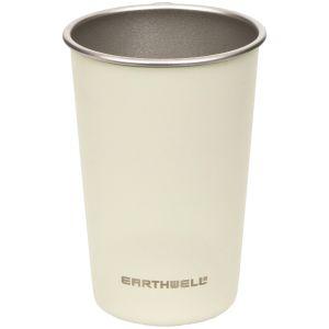 Earthwell Tasse en acier à paroi simple 473 ml Baja Sand