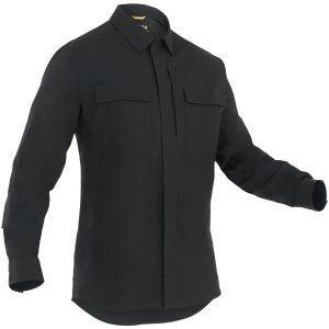 First Tactical T-shirt à manches longues pour homme Tactix BDU noir