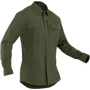 First Tactical T-shirt à manches longues pour homme Tactix BDU OD Green