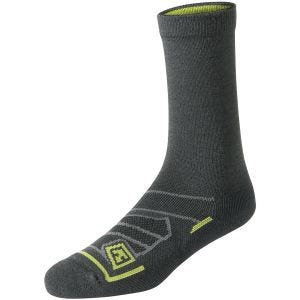 "First Tactical Chaussettes All Season 6"" laine mérinos Charcoal"