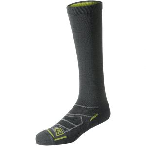 "First Tactical Chaussettes All Season 9"" laine mérinos Charcoal"