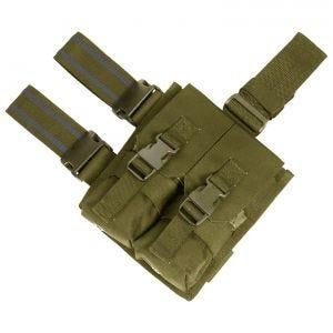 Flyye Plateforme de cuisse à passants avec double porte-chargeur pour M4/M16 Coyote Brown