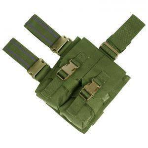 Flyye Plateforme de cuisse à passants avec double porte-chargeur pour M4/M16 Olive Drab
