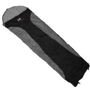 Fox Outdoor Sac de couchage Ultralight noir/gris