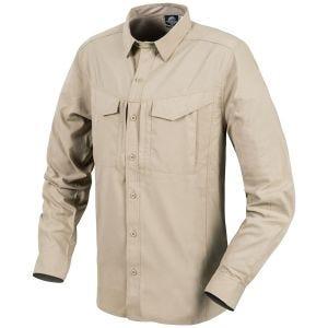 Helikon Defender Mk2 Tropical Shirt Long Sleeve Silver Mink
