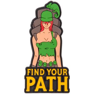 Helikon Écusson Find Your Patch Olive Green