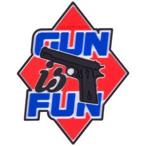 Helikon Écusson Gun is Fun rouge