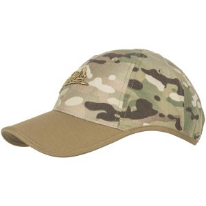 Helikon Logo Cap Polycotton Ripstop Camogrom / Coyote