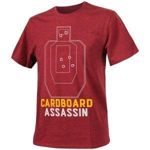 Helikon Cardboard Assassin T-shirt Mélange Rouge