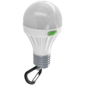 Highlander Lampe en forme d'ampoule LED 1 W blanche