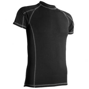 Highlander T-Shirt à manches courtes pour homme Bamboo 190 noir