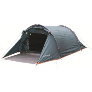 Highlander Tente 2 places Blackthorn vert Hunter/Orange Trim