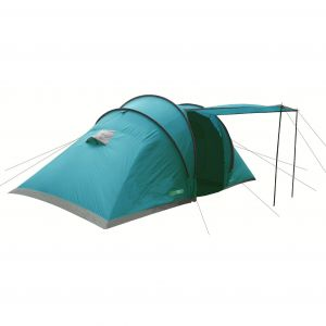 Highlander Tente 4 places Cypress bleu canard foncé/Rock Grey