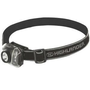 Highlander Lampe frontale Flame 3+4 LED noire