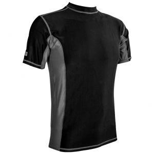 Highlander T-Shirt à manches courtes pour homme Pro Comp noir/gris