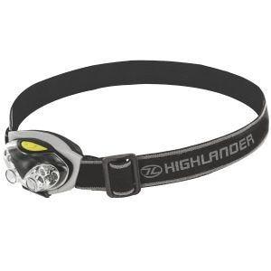 Highlander Lampe frontale Spark à 4+2 LED noir/argenté