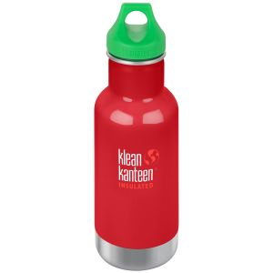 Kid Kanteen Gourde Classic 355 ml isolante avec bouchon à anneau Mineral Red