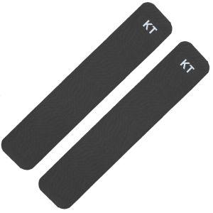 KT Tape Deux bandes en coton noires