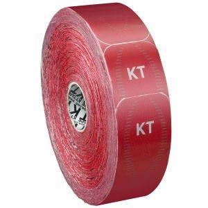 KT Tape Bandage adhésif thérapeutique Jumbo Synthetic Pro prédécoupé Rage Red