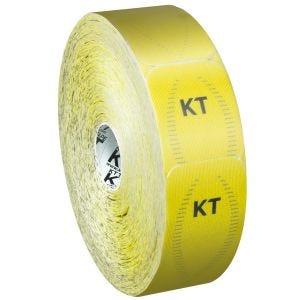 KT Tape Bandage adhésif thérapeutique Jumbo Synthetic Pro prédécoupé Solar Yellow