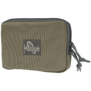 "Maxpedition Pochette zippée avec panneau Velcro 5"" x 7"" Kaki Foliage"