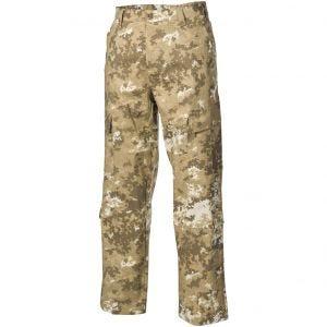 MFH ACU Pantalon de combat en Ripstop Vegetato Desert