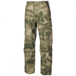 MFH ACU Pantalon de combat en Ripstop HDT Camo FG