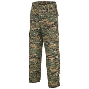 MFH ACU Pantalon de combat en Ripstop Digital Woodland