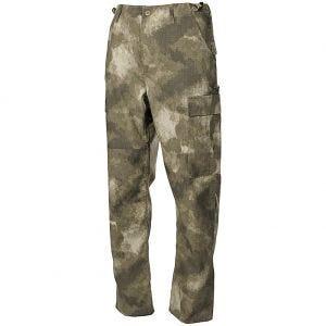 MFH BDU Pantalon de combat en Ripstop HDT Camo AU