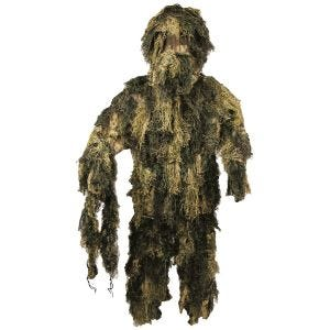 MFH Ghillie suit Camouflage Digital Woodland