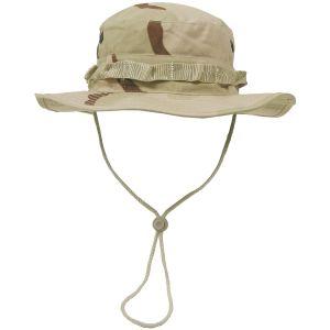 MFH Chapeau de brousse GI en Ripstop Desert tricolore
