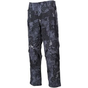 MFH Pantalon de combat Mission en Ripstop Snake Black