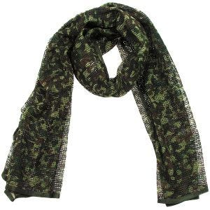 MFH Écharpe en filet Flecktarn