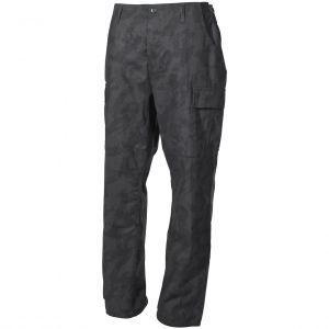 MFH BDU Pantalon de combat en Ripstop Night Camo