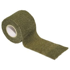 MFH Ruban en tissu auto-adhésif de camouflage 5 cm x 4,5 m OD Green