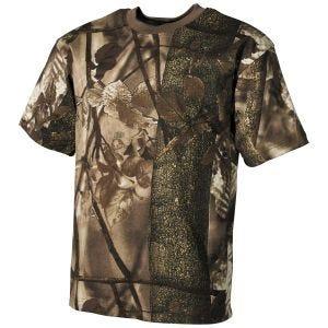 MFH T-shirt de chasseur marron Hunter