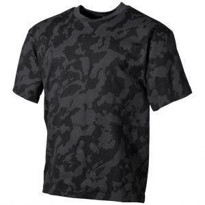 MFH T-shirt Night Camo