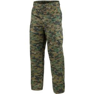 Mil-Tec Pantalon militaire BDU Digital Woodland