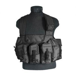 Mil-Tec Gilet militaire noir