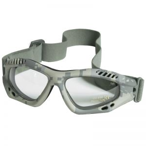 Mil-Tec Lunettes de protection à verres transparents Commando Air Pro ACU Digital